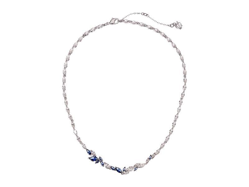 スワロフスキー レディース ネックレス・チョーカー・ペンダントトップ アクセサリー Louison Necklace CZ Sapphire Blu
