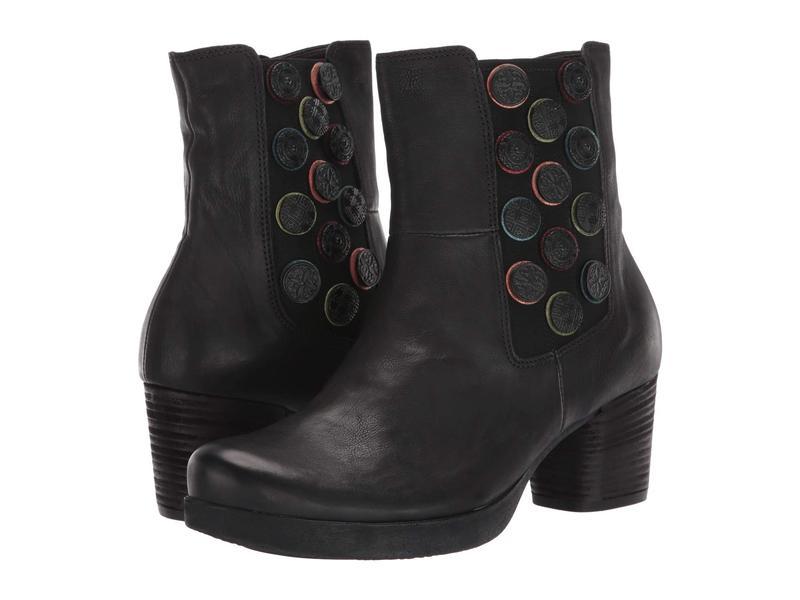 スィンク レディース ブーツ・レインブーツ シューズ Drawi Ankle Boot - 85233 Black/Kombi