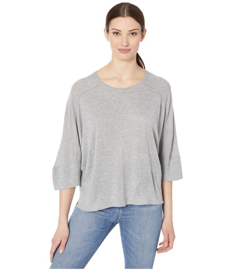 トリバル レディース ニット・セーター アウター Dolman 3/4 Sleeve Sweater Grey Mix