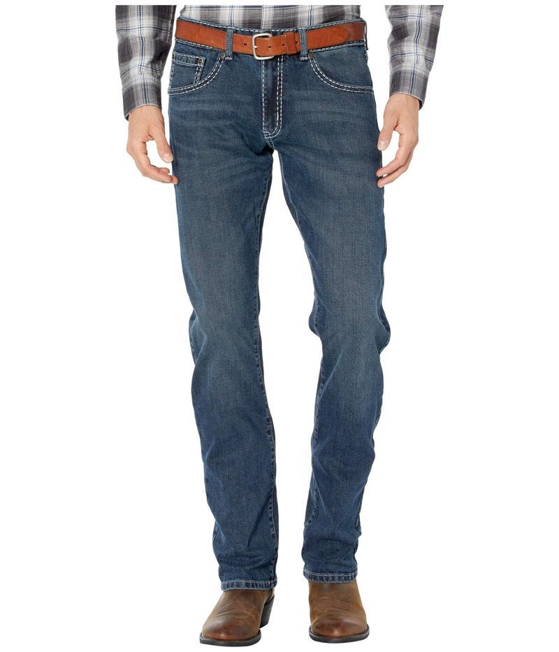 ラングラー メンズ デニムパンツ ボトムス Rock 47 Slim Straight Jeans Quartet