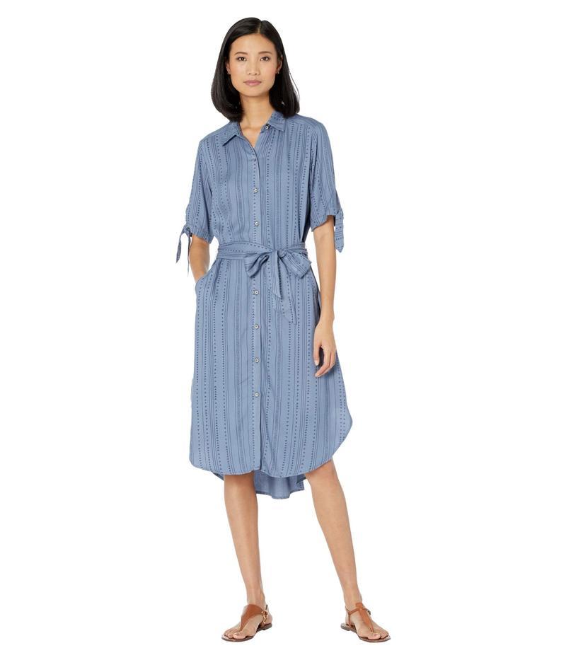 アリアト レディース ワンピース トップス Side Stripe Dress Tribal Stripe P