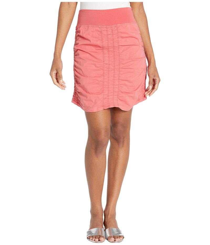 エックスシーブイアイ レディース スカート ボトムス Wearables Solid Trace Skirt Cerasus Pigment