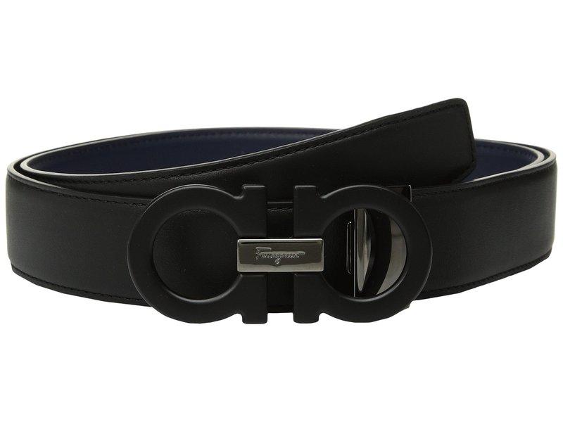 サルヴァトーレ フェラガモ メンズ ベルト アクセサリー Adjustable/Reversible Belt - 679710 Nero