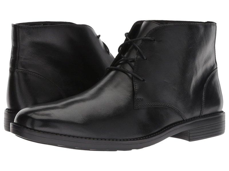 ボストニアン メンズ ブーツ・レインブーツ シューズ Birkett Mid Black Leather