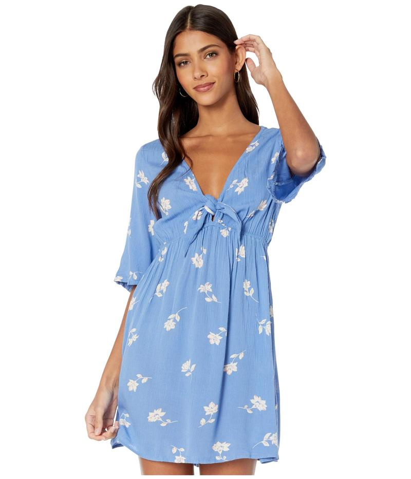 ビラボン レディース ワンピース トップス Gone Skippin Dress Costa Blue