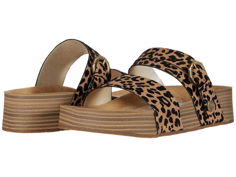 ブローフィッシュ レディース サンダル シューズ Marge Sahara Leopard
