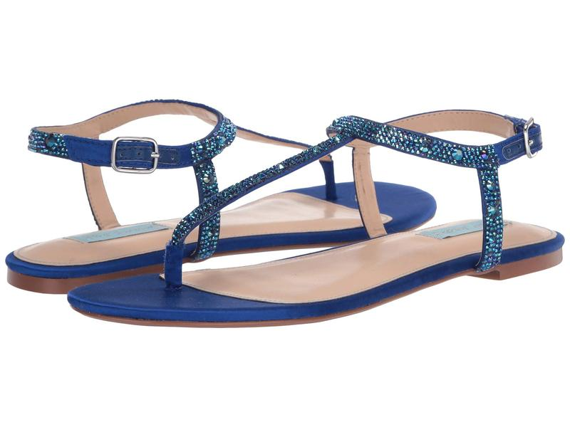 ブルーバイベトシージョンソン レディース サンダル シューズ Lux Flat Sandal Bright Blue