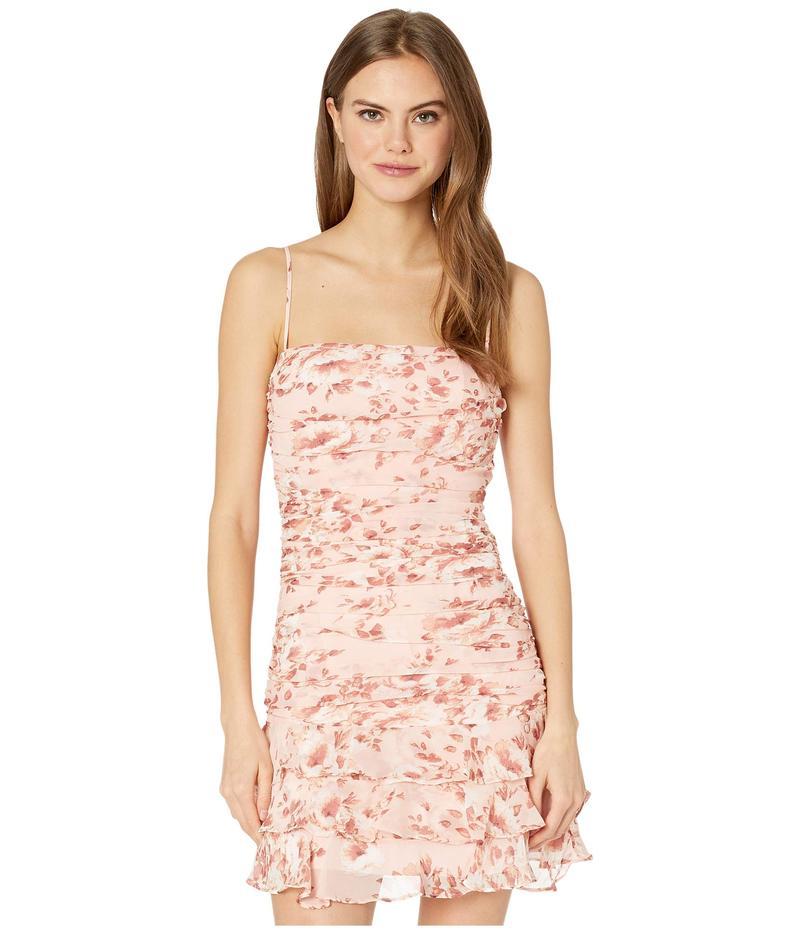 バードット レディース ワンピース トップス Remi Floral Dress Floral Peach