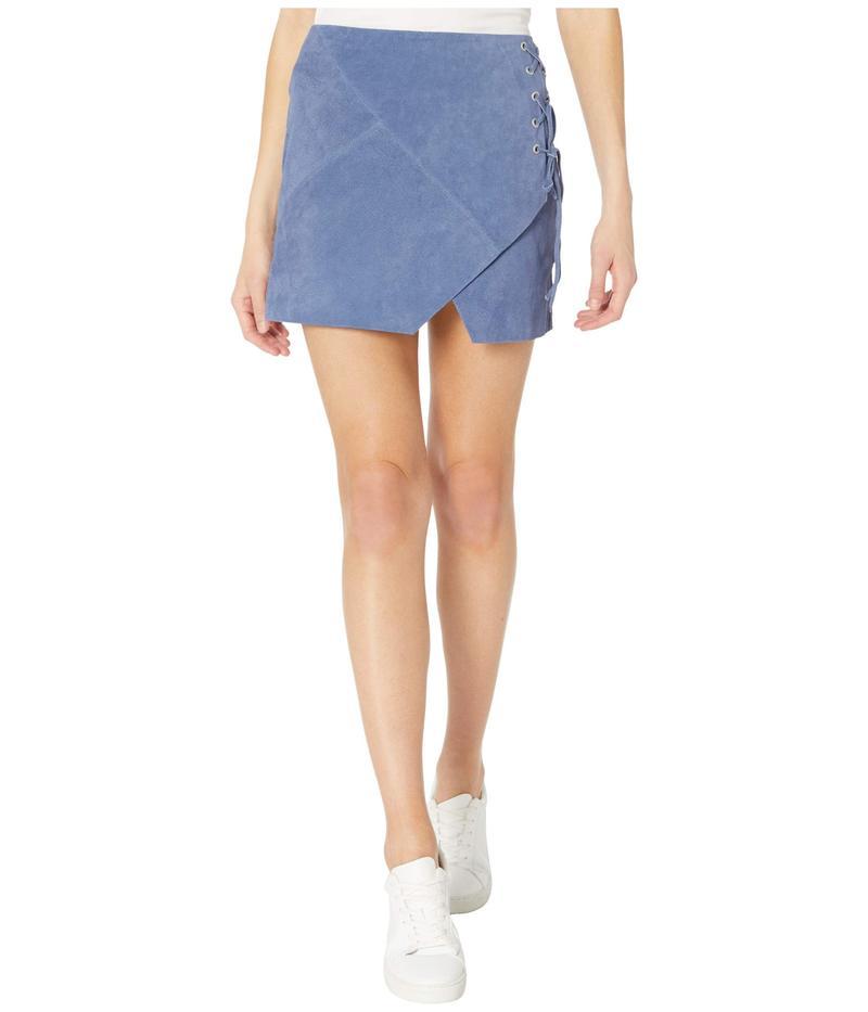 ブランクニューヨーク レディース スカート ボトムス Suede Mini Skirt Play Date