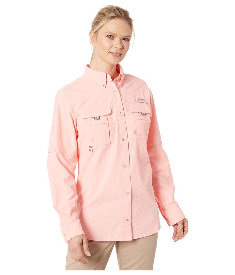 コロンビア レディース シャツ トップス Bahama¢ L/S Shirt Tiki Pink