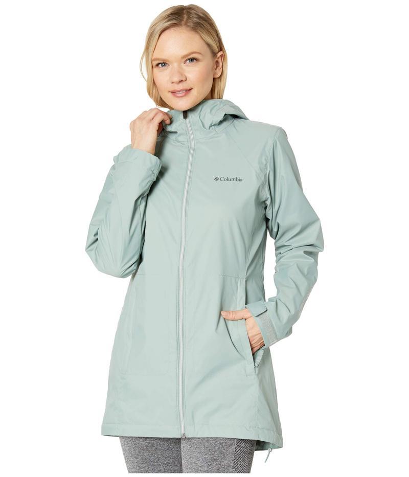 コロンビア レディース コート アウター Switchback Lined Long Jacket Light Lichen/Co