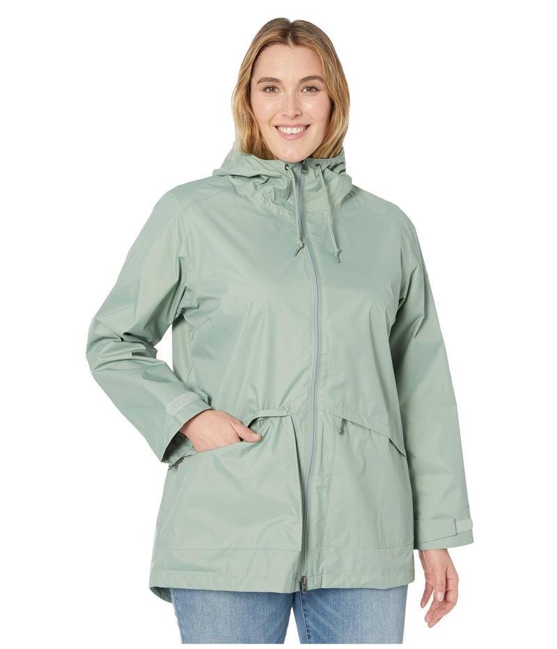 コロンビア レディース コート アウター Plus Size Arcadia¢ Casual Jacket Light Lichen