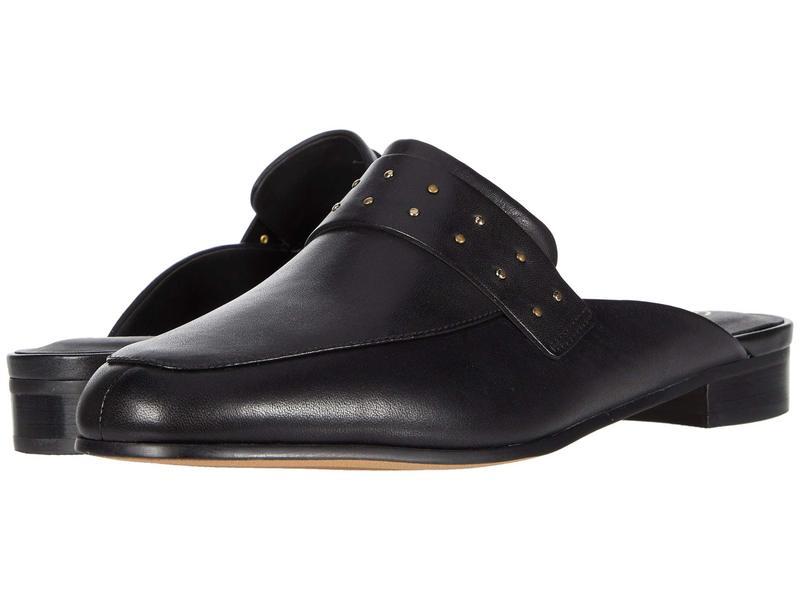 クラークス レディース サンダル シューズ Pure Mule Black Leather