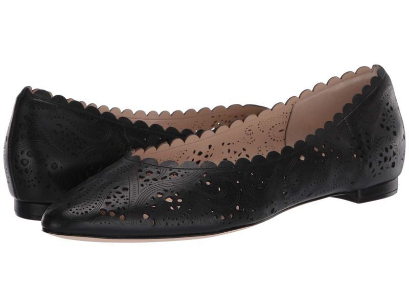 コールハーン レディース サンダル シューズ Callie Flat Black Leather