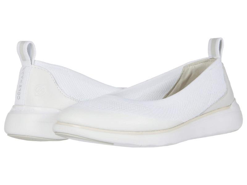 コールハーン レディース ヒール シューズ Zerogrand Global Slip-On Optic White/Gla