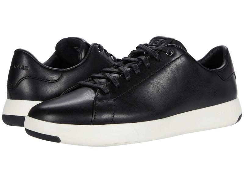 コールハーン メンズ スニーカー シューズ GrandPro Tennis Sneaker Black/Black/Whi