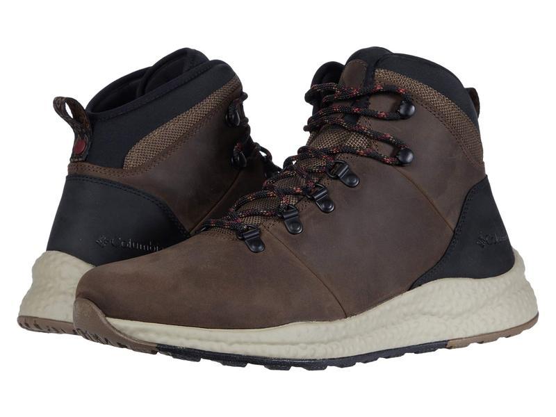 コロンビア メンズ ブーツ・レインブーツ シューズ Sh/Ft¢ Waterproof Hiker Espresso II/Red