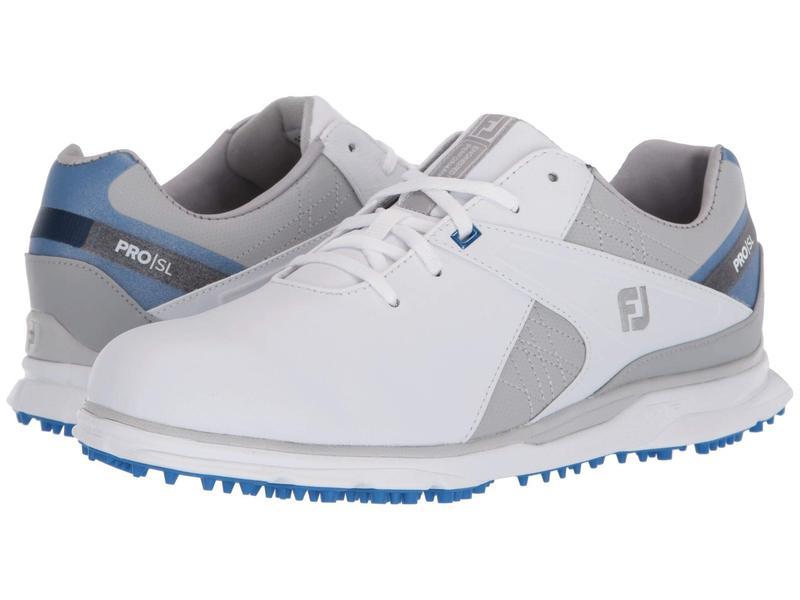 フットジョイ メンズ スニーカー シューズ Pro SL White/Blue/Grey