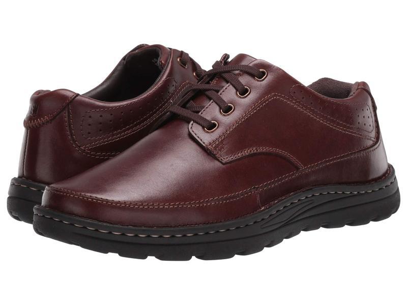 ドリュー メンズ オックスフォード シューズ Toledo II Brandy Leather