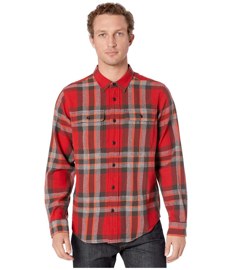 フィルソン メンズ シャツ トップス Scout Shirt Red/Black/Flame