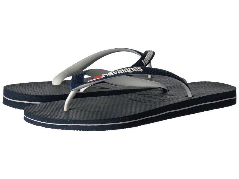 ハワイアナス レディース サンダル シューズ USA Logo Sandal Navy Blue
