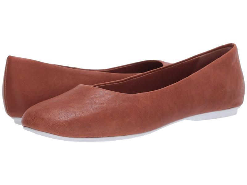 ケネスコール レディース サンダル シューズ Eugene Travel Ballet Cognac Leather