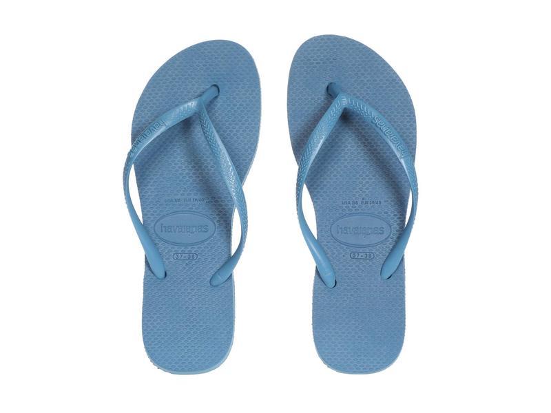 ハワイアナス レディース サンダル シューズ Slim Flatform Sandal Steel Blue