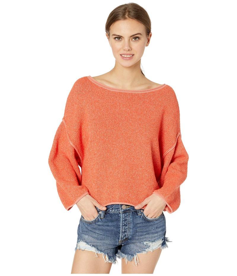 フリーピープル レディース ニット・セーター アウター Bardot Sweater Coral