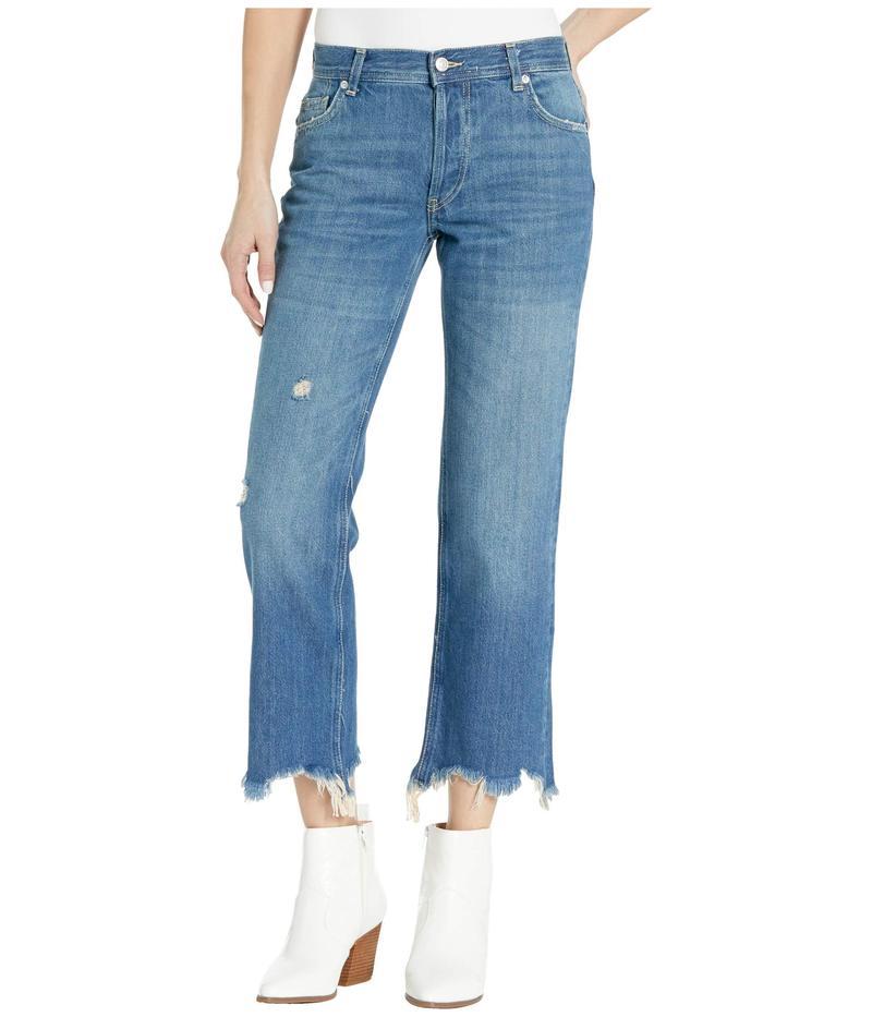 フリーピープル レディース デニムパンツ ボトムス Maggie Mr Straight Jeans Dark Denim
