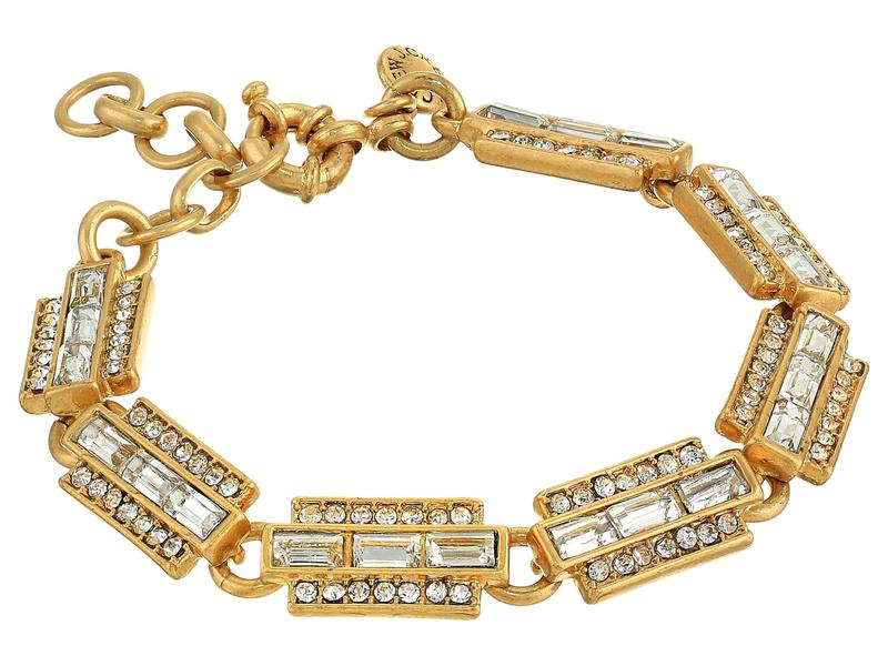 ジェイクルー レディース ブレスレット・バングル・アンクレット アクセサリー Bacchio Station Bracelet Crystal