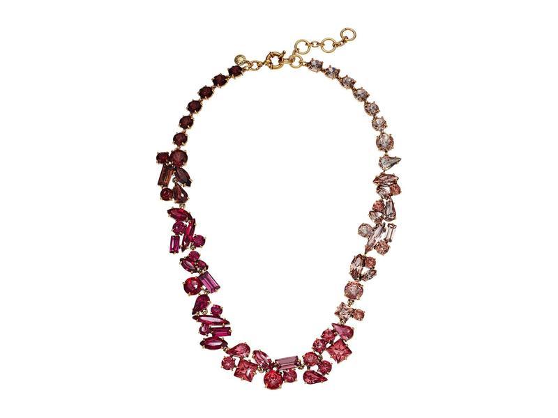 ジェイクルー レディース ネックレス・チョーカー・ペンダントトップ アクセサリー Multi Facet Glitz Chain Necklace Soft Azalea