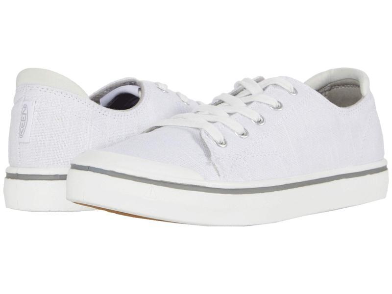 キーン レディース スニーカー シューズ Elsa IV Sneaker White/Star Whit