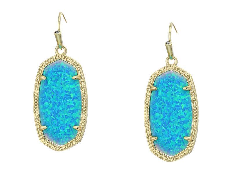 ケンドラスコット レディース ピアス・イヤリング アクセサリー Dani Earrings Gold/Turquoise