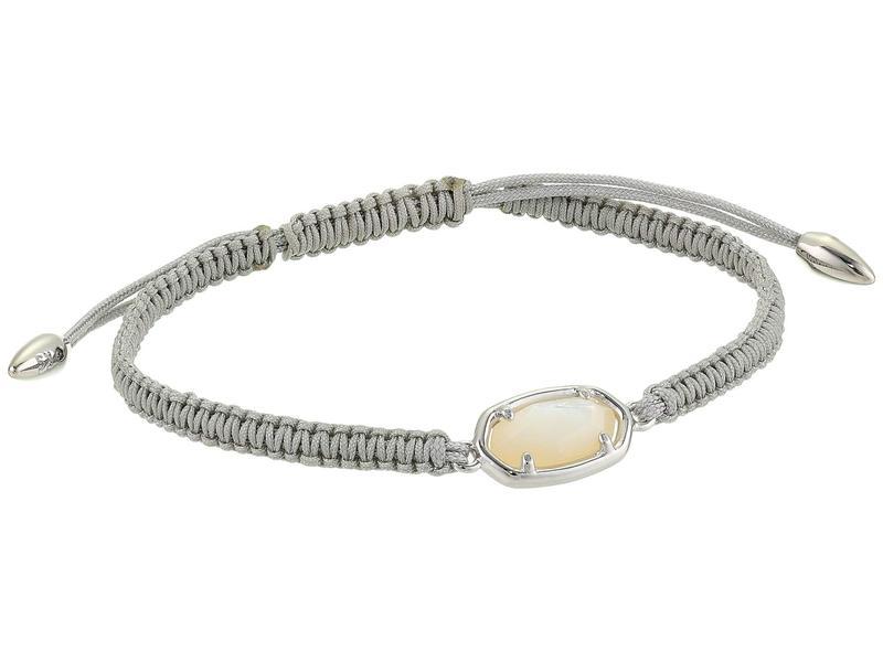 ケンドラスコット レディース ブレスレット・バングル・アンクレット アクセサリー Grayson Friendship Bracelet Rhodium/Ivory M