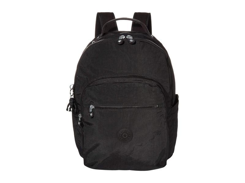 キプリング レディース バックパック・リュックサック バッグ Seoul Laptop Backpack Black Noir