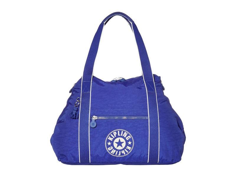 キプリング レディース ハンドバッグ バッグ New Classics Art Medium Tote Bag Laser Blue