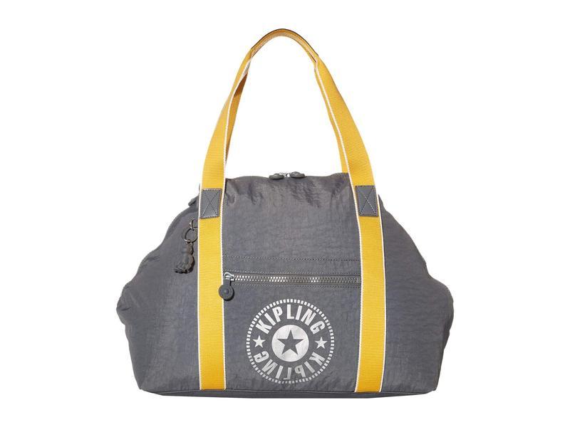キプリング レディース ハンドバッグ バッグ New Classics Art Medium Tote Bag Dark Carbon Ny