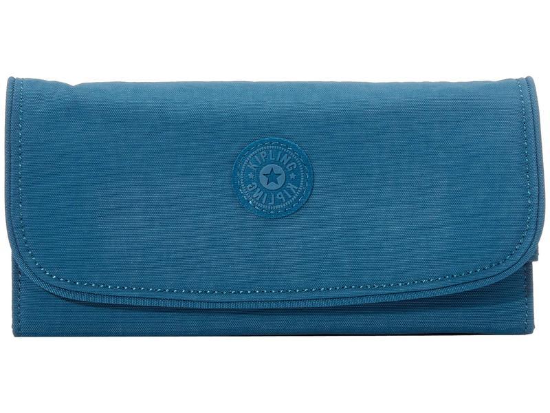 キプリング レディース 財布 アクセサリー Money Land RFID Wallet Mystic Blue