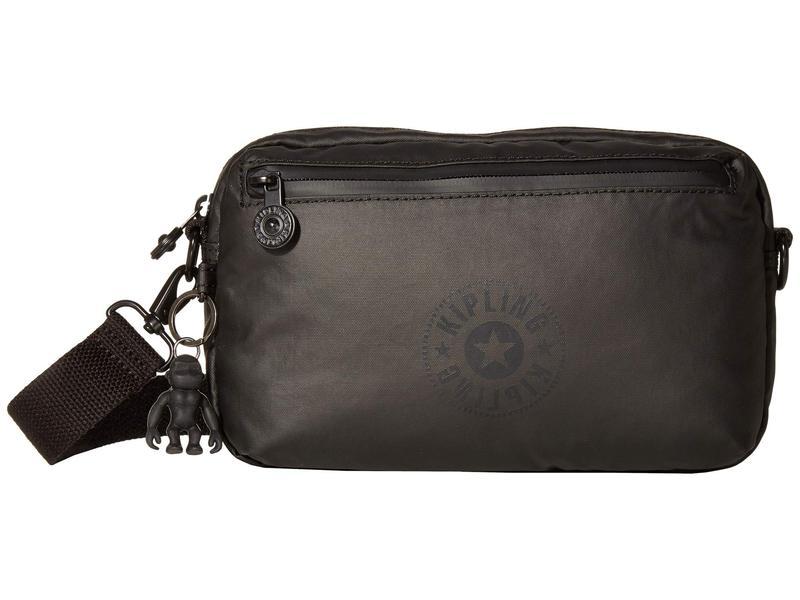 キプリング レディース ボディバッグ・ウエストポーチ バッグ New Classics Halima Convertible Waistpack Raw Black