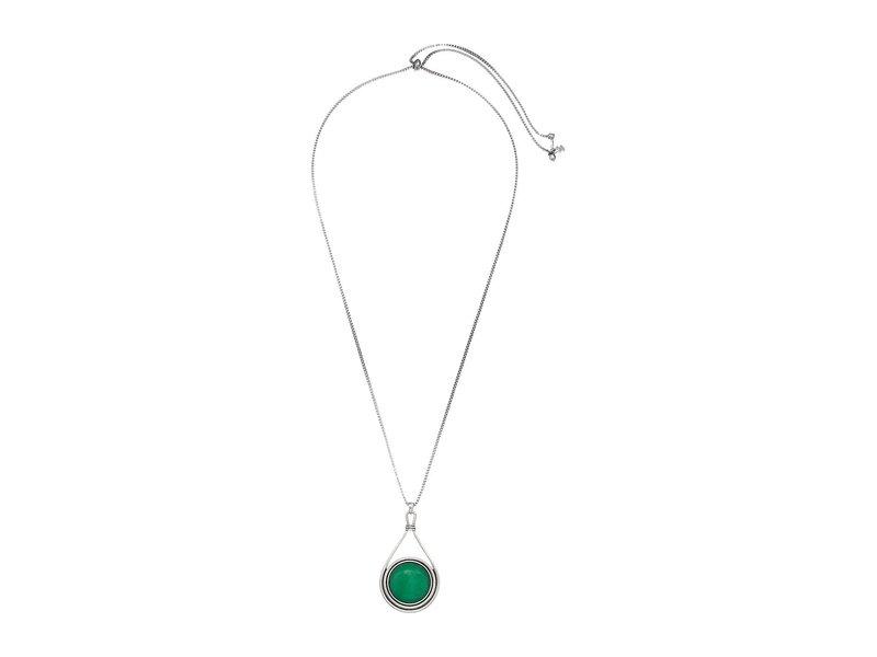 ラッキーブランド レディース ネックレス・チョーカー・ペンダントトップ アクセサリー Reversible Layer Necklace Silver