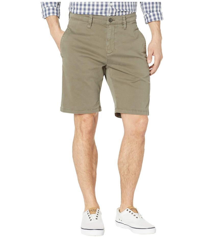マーヴィ ジーンズ メンズ ハーフパンツ・ショーツ ボトムス Matteo Shorts in Dusty Olive Sateen Twill Dusty Olive Sat