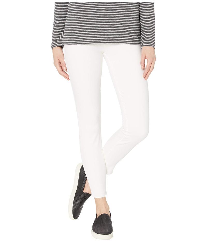ラッキーブランド レディース デニムパンツ ボトムス Mid-Rise Ava Skinny Jeans in Clean White Clean White