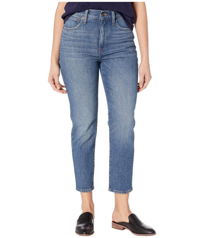 メイドウェル レディース デニムパンツ ボトムス Classic Straight Jeans in Coldbrook Wash Coldbrook Wash
