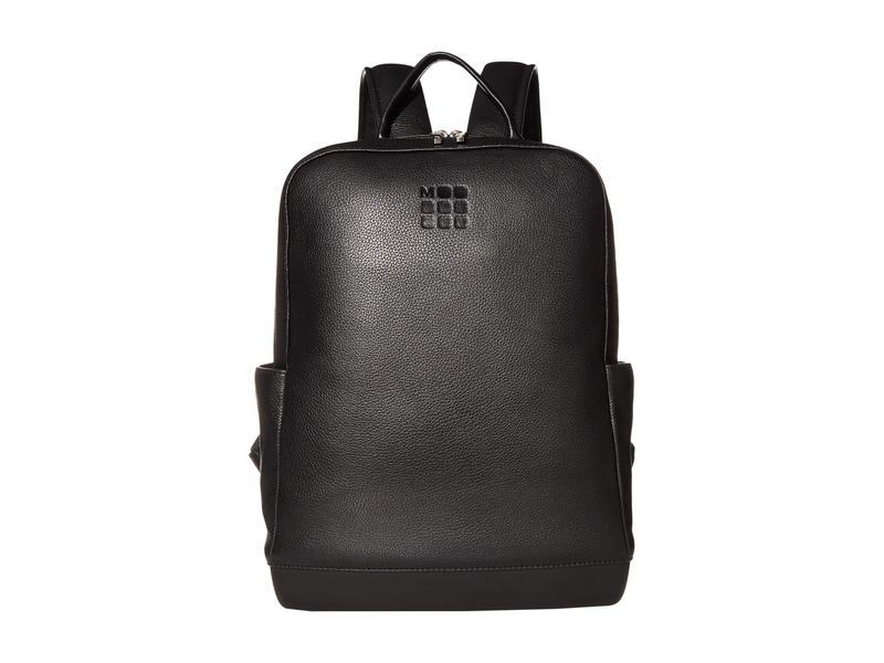 モレスキン メンズ バックパック・リュックサック バッグ Classic Leather Backpack Black