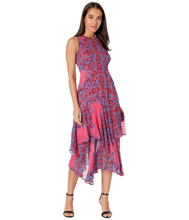 ナネットレポー レディース ワンピース トップス Magic Garden Dress Coral Multi