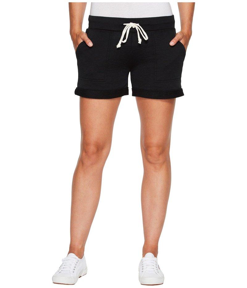 オルタナティヴ レディース ハーフパンツ・ショーツ ボトムス Burnout French Terry Lounge Shorts True Black