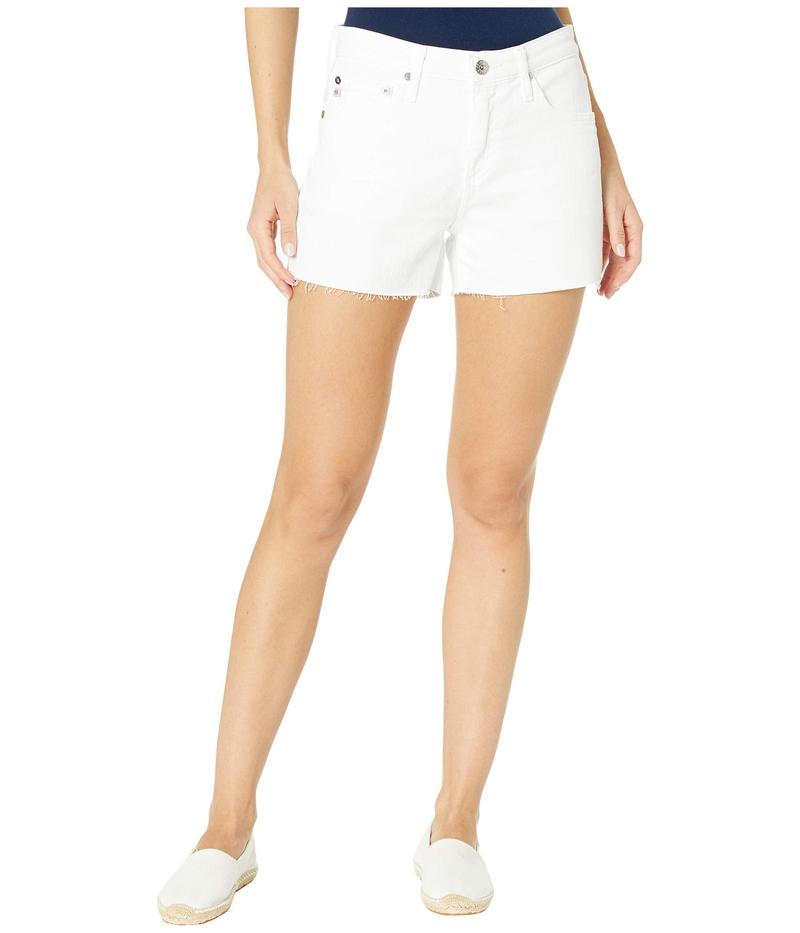 エージー アドリアーノゴールドシュミット レディース ハーフパンツ・ショーツ ボトムス Hailey Cutoffs Shorts in 1 Year Optic White 1 Year Optic Wh