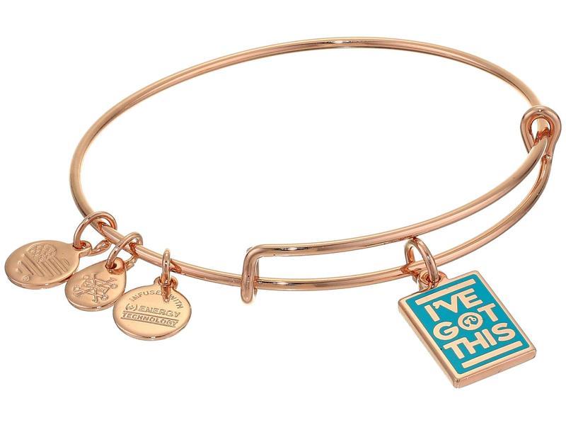 アレックスアンドアニ レディース ブレスレット・バングル・アンクレット アクセサリー Barbie Charm Bangle Bracelet Rose Gold/I've