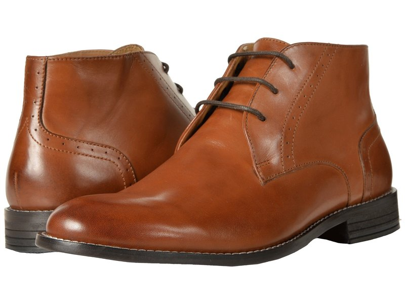 ノンブッシュ メンズ ブーツ・レインブーツ シューズ Savage Plain Toe Chukka Boot Cognac