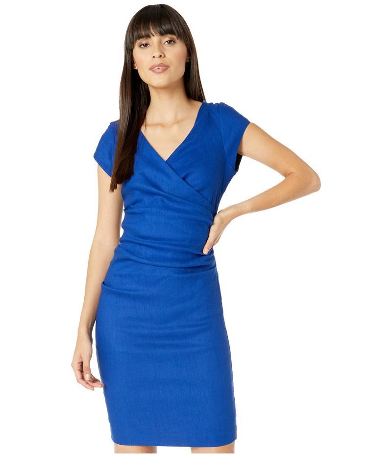 ニコルミラー レディース ワンピース トップス Linen Beckett Dress Insignia